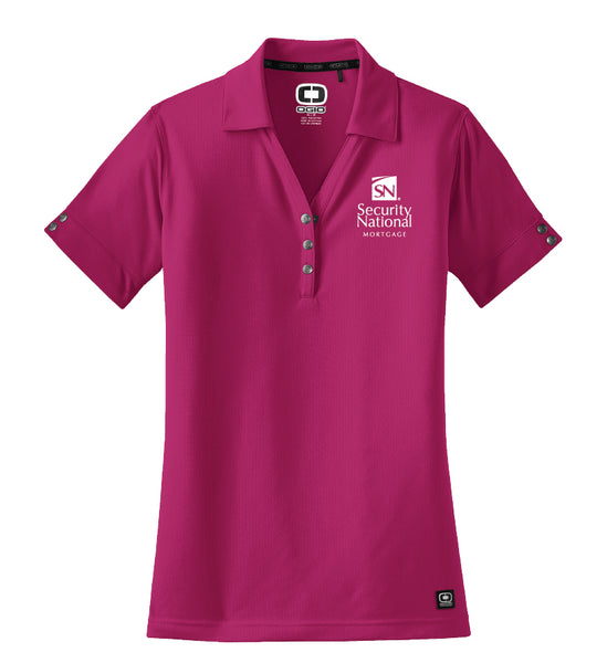 Ladies' OGIO Glam Polo Shirt - Crush Pink