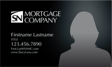 SN Mortgage Company BUSINESS CARD  - BLACK DESIGN