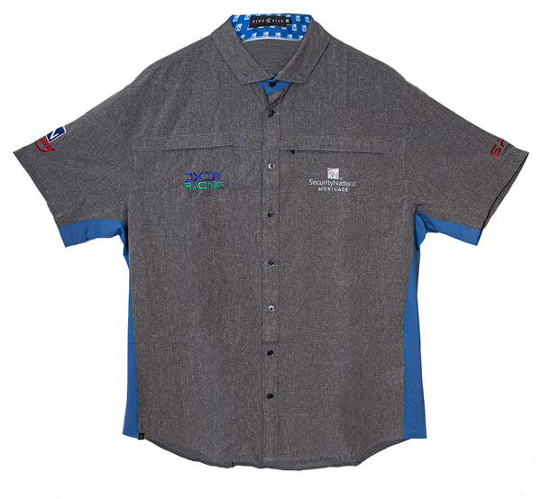 Fully Custom Gray Racing Shirts