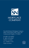 SN Mortgage Company BUSINESS CARD  - WHITE DESIGN