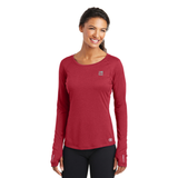 OGIO ENDURANCE Ladies Long Sleeve Pulse Crew.