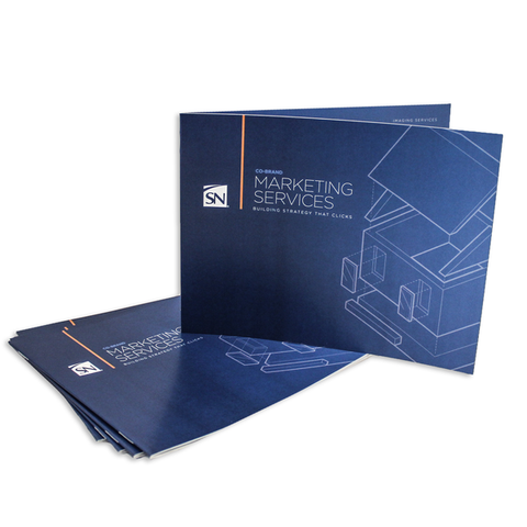 Marketing Services Booklets 100lb Gloss Text (8.5 x 5.5)
