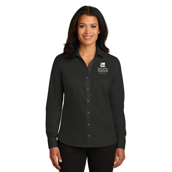 Port Authority® Ladies Stretch Poplin Shirt