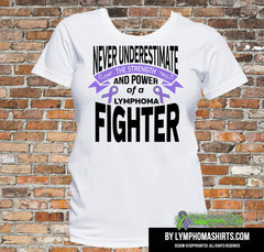 Hodgkins Lymphoma Strength of a Lymphoma Fighter Shirts