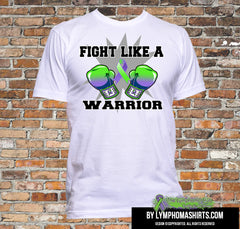 Fight Like a Warrior For All Lymphomas Shirts