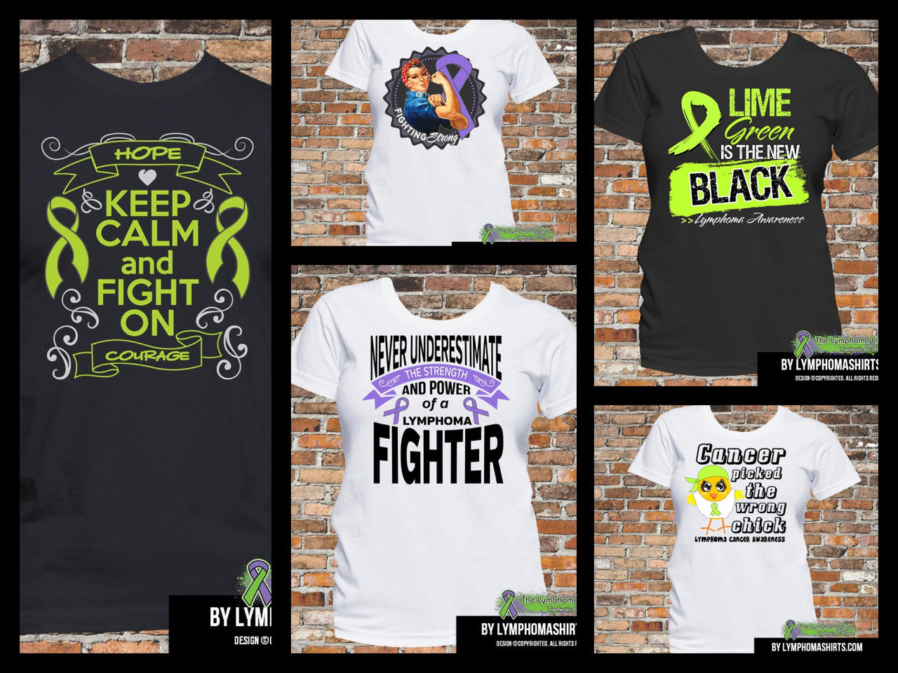 Lymphoma Shirts and Apparel