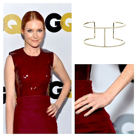 Darby Stanchfield in Granger B13 Diamond Cuff-compressed