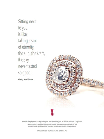 JULIERI Engagement Ring In C Wedding Magazine