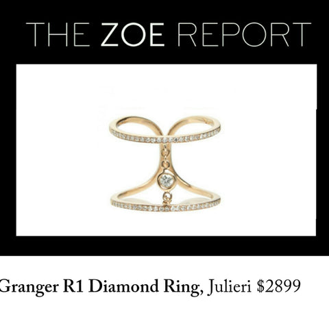 The Zoe Report Julieri Granger R1 Diamond Ring