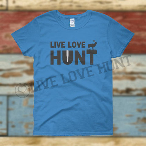 live love hunt™ kudu - women's tee