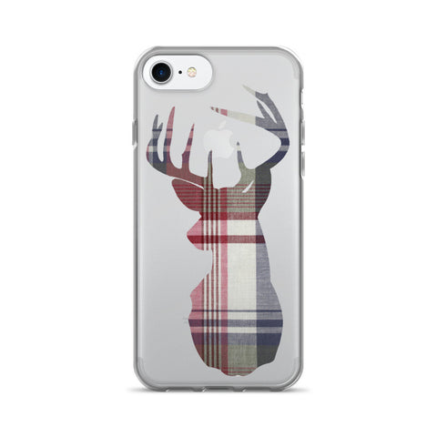 flannel buck iPhone 7/7 Plus Case