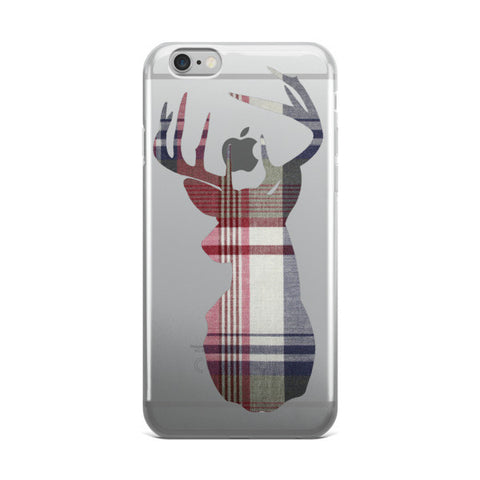 flannel buck iPhone case