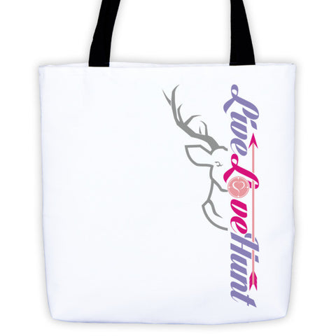 arrow polyester tote