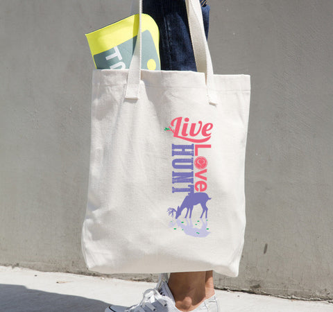 reflection canvas tote