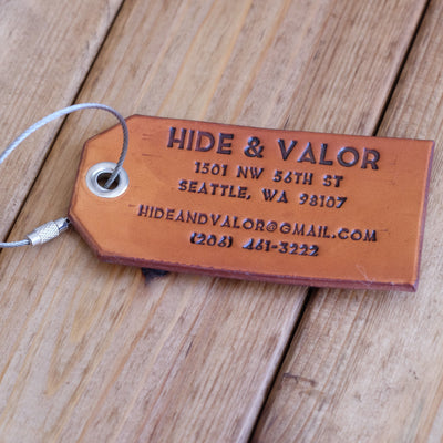 Single Luggage Tag // Select Attachment