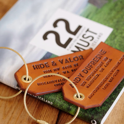 Set Of 4 Luggage Tags // Select Attachment