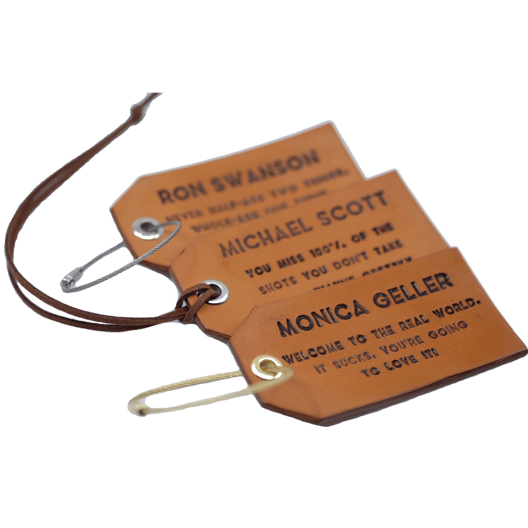 Set Of 3 Luggage Tags