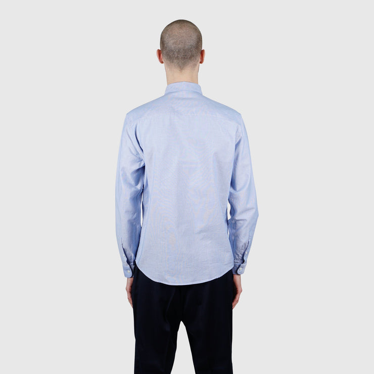 AMI Alexandre Mattiussi Ami de Coeur Button-Down Shirt - Light Blue Shirt AMI Alexandre Mattiussi