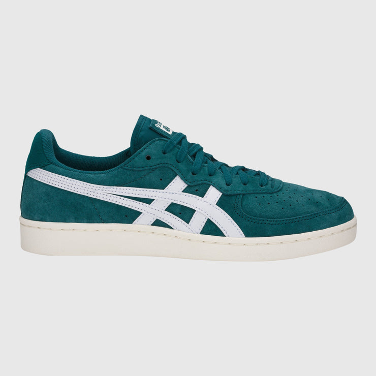Asics GSM Sneakers Spruce Green White </p>                     </div> <!--bof Product URL --> <!--eof Product URL --> <!--bof Quantity Discounts table --> <!--eof Quantity Discounts table --> </div> </dd> <dt class=