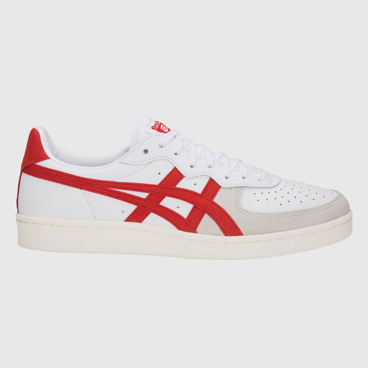 Asics GSM Sneakers - White / Classic Red Sneakers Asics