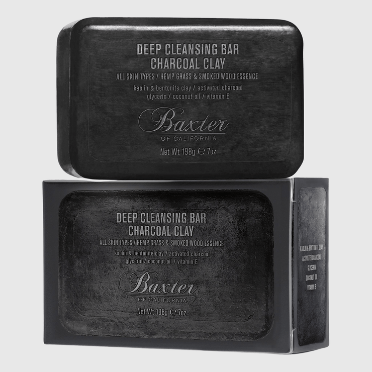 Baxter of California 3-in-1 Deep Cleansing Charcoal Bar Hand & Body Baxter of California