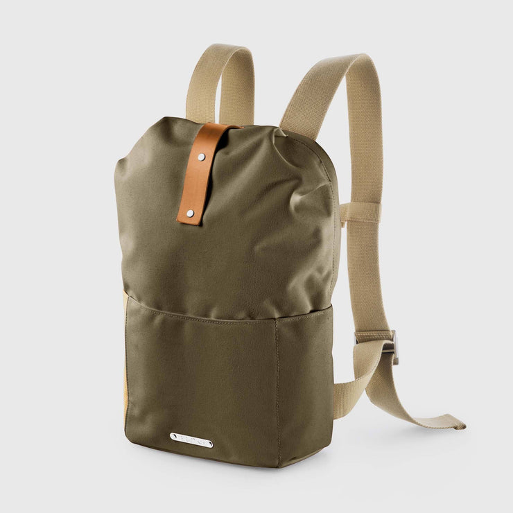 Brooks Dalston Small backpack Backpack Brooks England Green fleck
