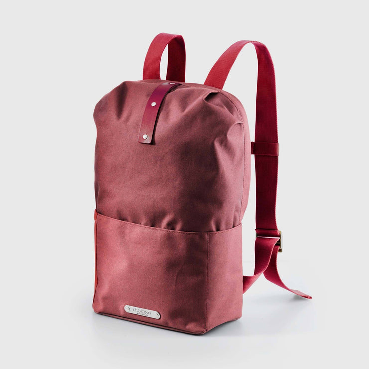Brooks Dalston Small backpack Backpack Brooks England Red fleck