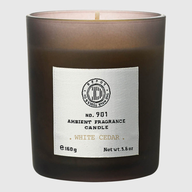 Depot No. 901 Ambient Fragrance Candle Candle Depot White Cedar