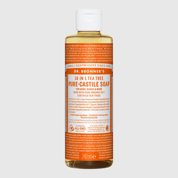 Dr. Bronner's 18-in-1 Pure-Castile Liquid Soap - Large Hand Soap Dr. Bronner's Citrus Orange