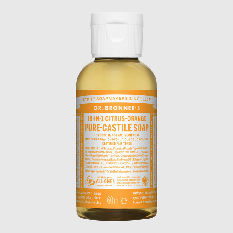 Dr. Bronner's 18-in-1 Pure-Castile Liquid Soap - Small Hand Soap Dr. Bronner's Citrus Orange