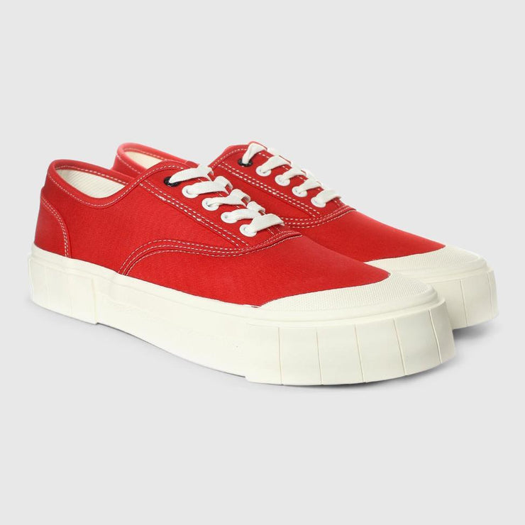 Good News Bagger 2 Low Sneaker - Red Footwear Good News