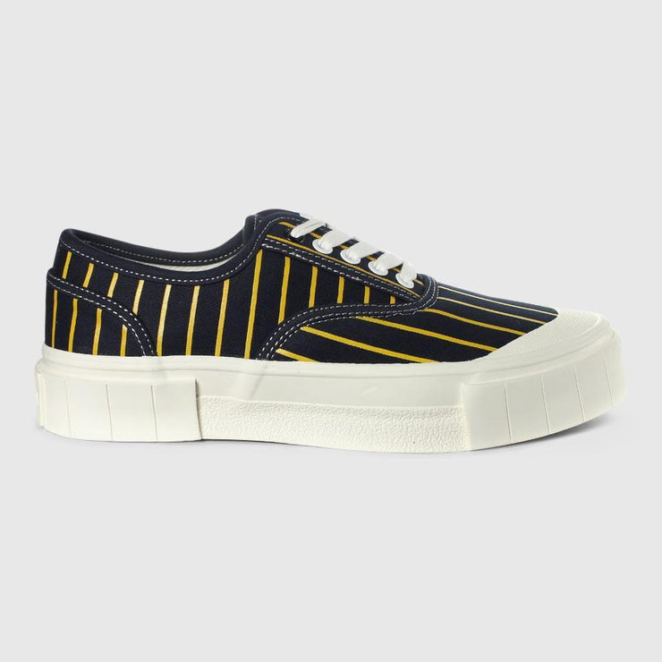 Good News Hurler 2 Low Sneaker - Navy Yellow Footwear Good News