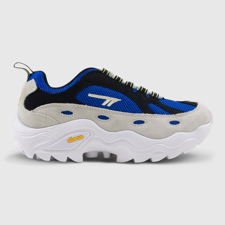 Hi-Tec Flash ADV Racer - White / Blue / Black / Light Yellow Sneakers Hi-Tec