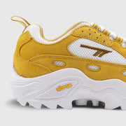 Hi-Tec Flash ADV Racer - Yellow / Mustard / White Sneakers Hi-Tec