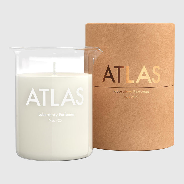 Laboratory Perfumes Candle - Atlas Candle Laboratory Perfumes