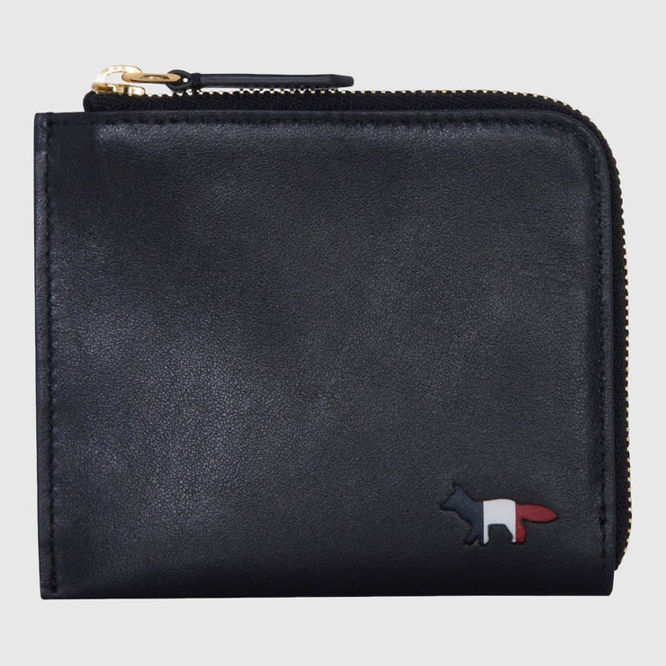 Maison Kitsuné Leather Coin Purse Wallet Maison Kitsuné