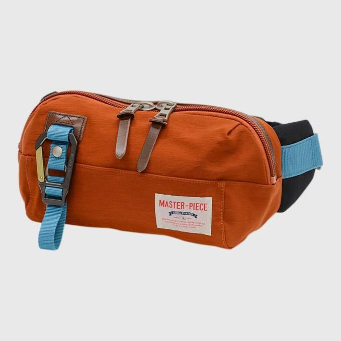 Master-Piece Link Waist Bag Waist bag Master-Piece Orange