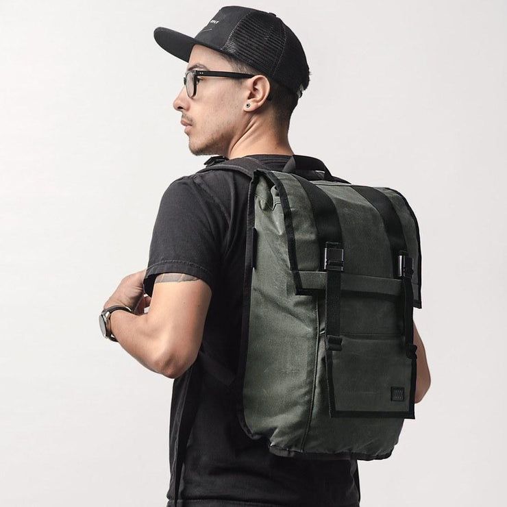 Mission Workshop Sanction Backpack - Waxed Canvas Backpack Mission Workshop