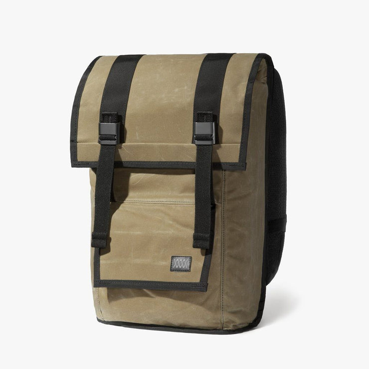 Mission Workshop Sanction Backpack - Waxed Canvas Backpack Mission Workshop Brown