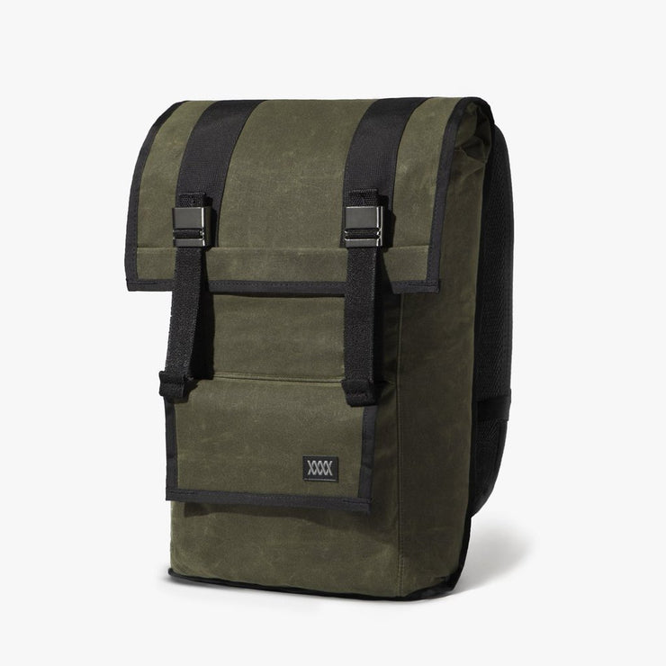 Mission Workshop Sanction Backpack - Waxed Canvas Backpack Mission Workshop Olive