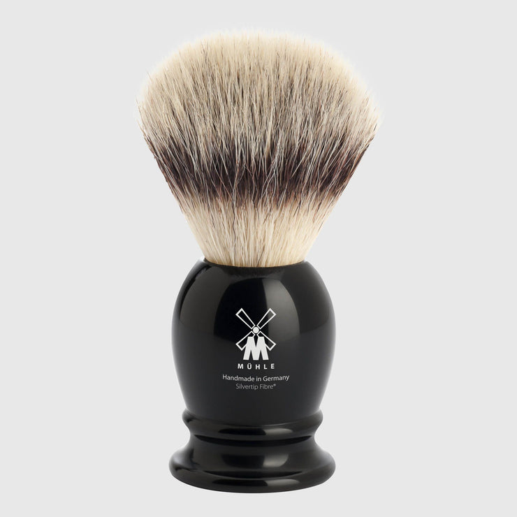 Mühle Classic Silvertip Fibre Shaving Brush Shave Tools Mühle Black 1