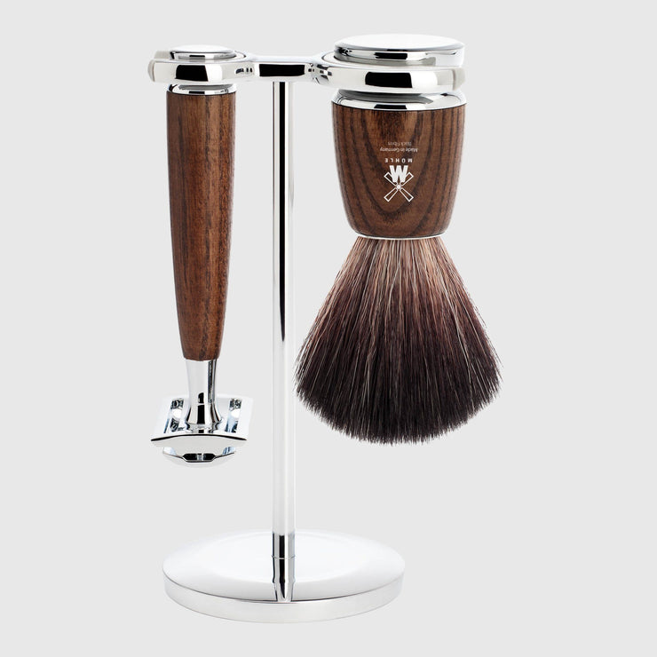 Mühle Rytmo Shaving Kit - 3 Parts Barbersett Mühle Ask Black Fibre