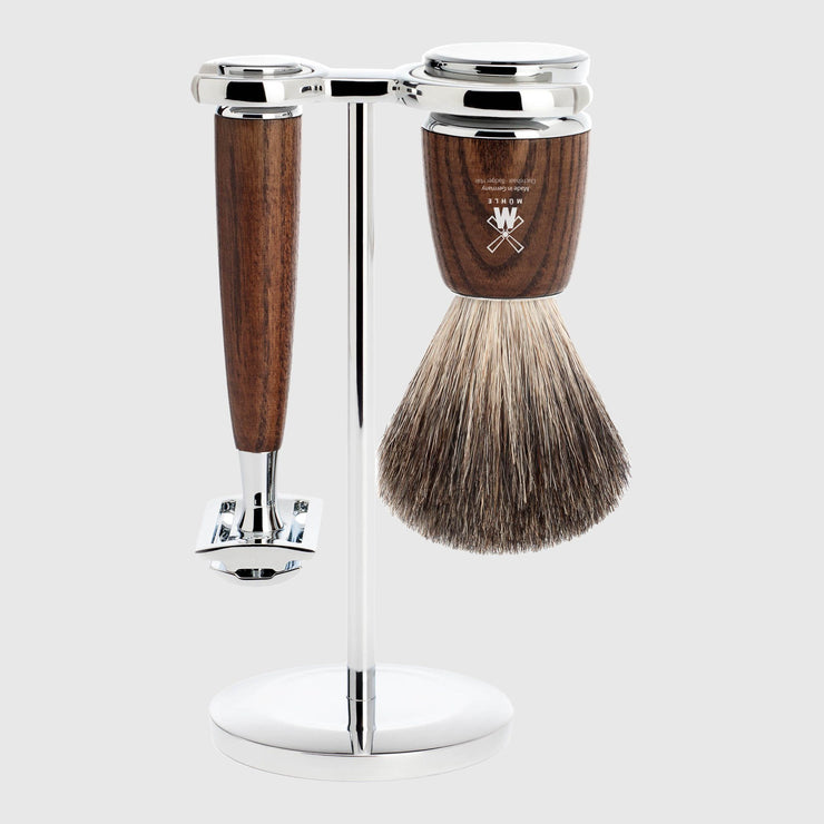 Mühle Rytmo Shaving Kit - 3 Parts Barbersett Mühle Ask Pure Badger