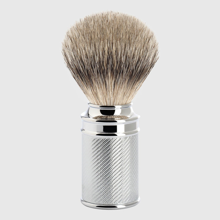 Mühle Traditional Silvertip Shaving Brush Shave Tools Mühle Chrome