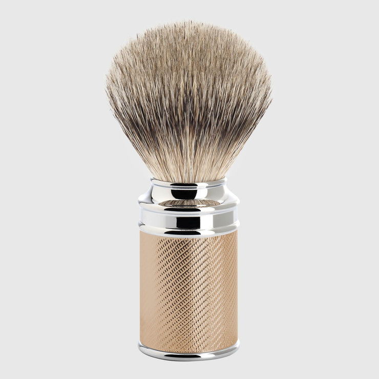 Mühle Traditional Silvertip Shaving Brush Shave Tools Mühle Rose Gold