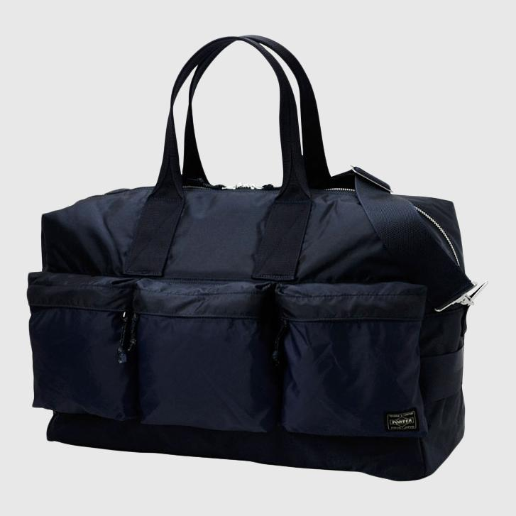 Porter-Yoshida & Co. Force 2Way Duffle Bag - Navy Bag Porter-Yoshida & Co.