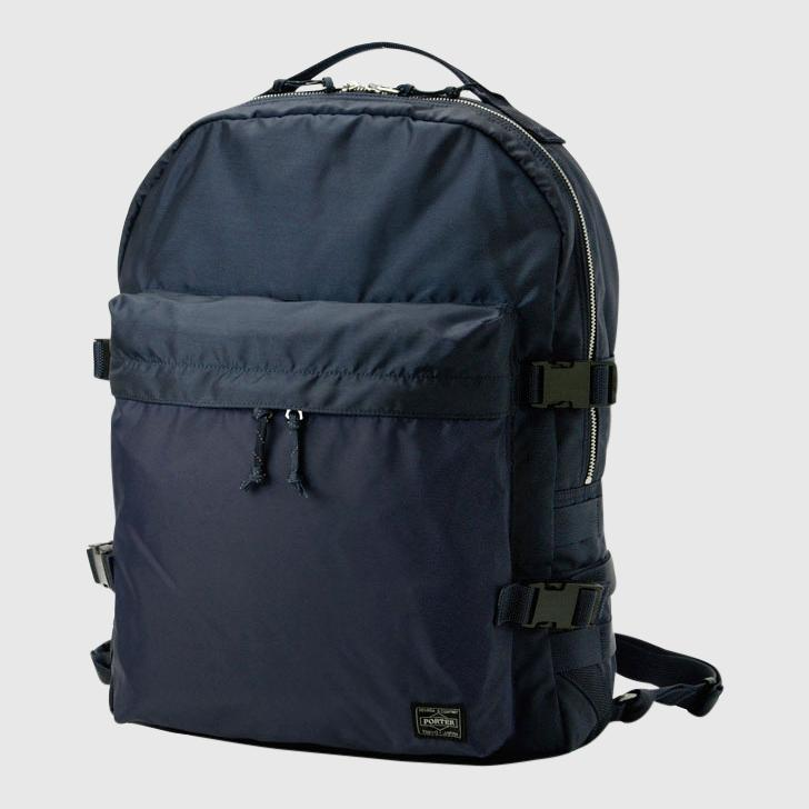 Porter-Yoshida & Co. Force Day Pack Backpack - Navy Backpack Porter-Yoshida & Co.