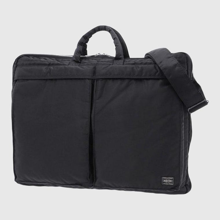 Porter-Yoshida & Co. Tanker 2Way Clothing Bag - Black Bag Porter-Yoshida & Co.