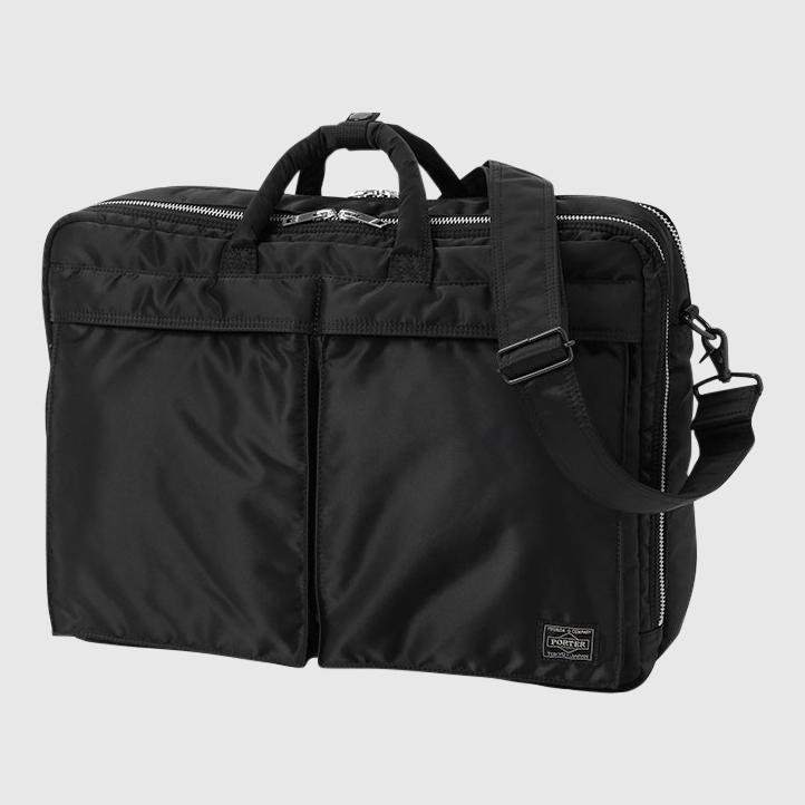 Porter-Yoshida & Co. Tanker 3Way Suit Case - Medium Bag Porter-Yoshida & Co. Black
