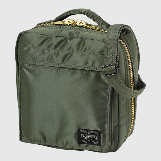 Porter-Yoshida & Co. Tanker Square Shoulder Bag Bag Porter-Yoshida & Co. Sage Green